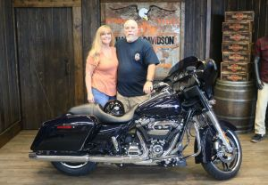 Charles and Cassandras new Street Glide!