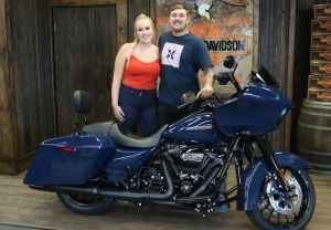 Trent and Sarahs new Road Glide Special!