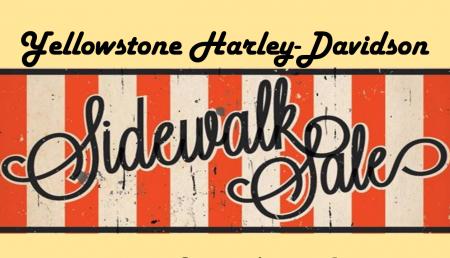 End of Summer Sidewalk Sale!