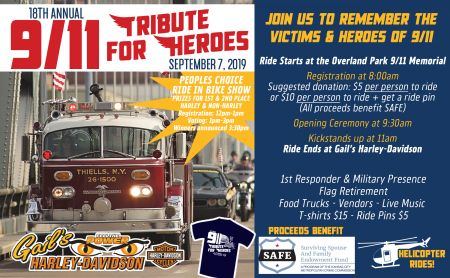 18th Annual 911 Tribute Ride