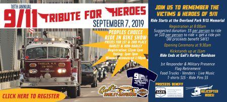18th Annual 911 Tribute Ride