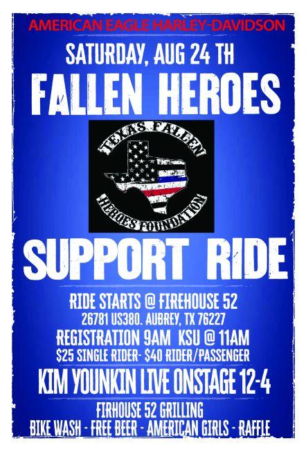 Fallen Heroes Support Ride