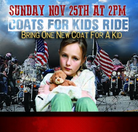 COATS 4 KIDS RIDE 2019