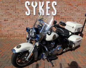 2018 Harley Davidson FLHP Police Road King, Full Stage One, in Birch White