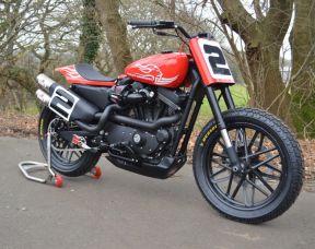 Custom 2017 Harley-Davidson XL1200CX Sportster Roadster, Full Stage One