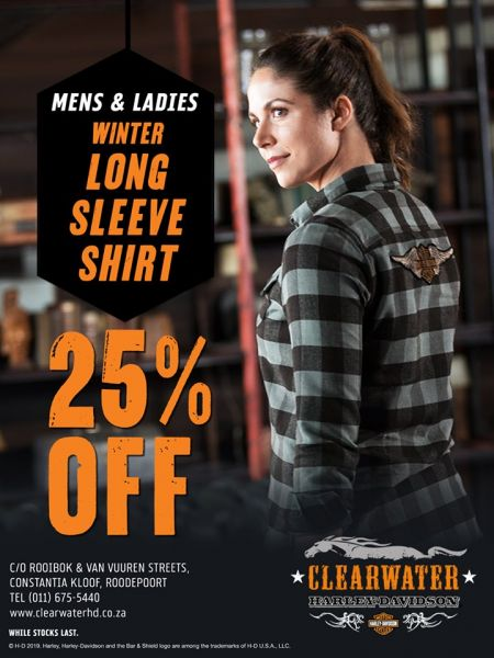 Long Sleeve Shirts Promotion at Clearwater Harley-Davidson