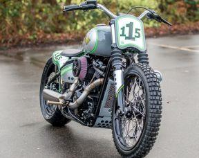 Custom 2018 Harley-Davidson FXBB Softail Street Bob, Stage One, Custom Paint