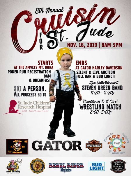 Cruisin' for St. Judes | 8th Annual