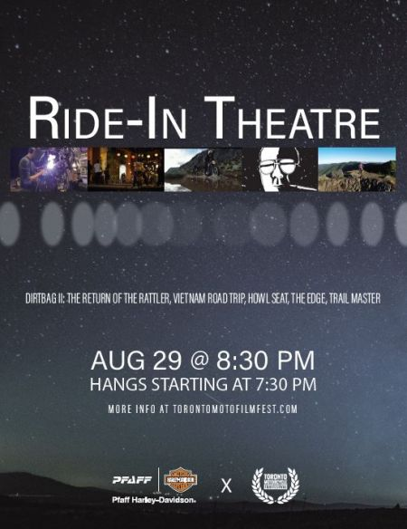 RIDE-IN THEATRE - AUG 29