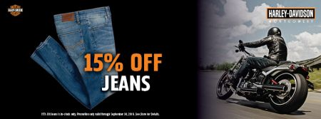 15% Off Jeans