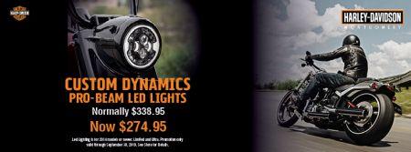 Custom Dynamics LED Lighting Now $274.95