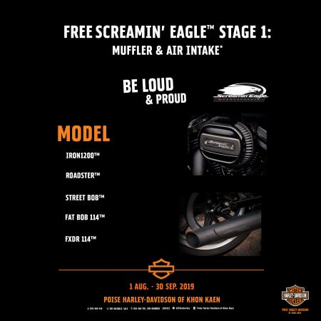 Free Screamin'Eagle™ Stage 1
