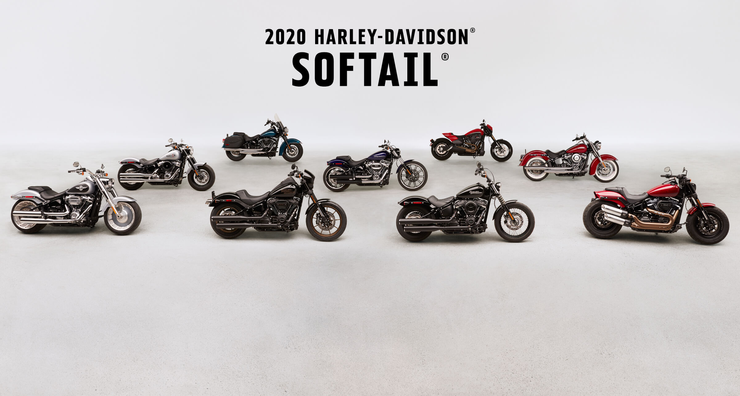 Softail<sup>®</sup> - 2020 Motorcycles