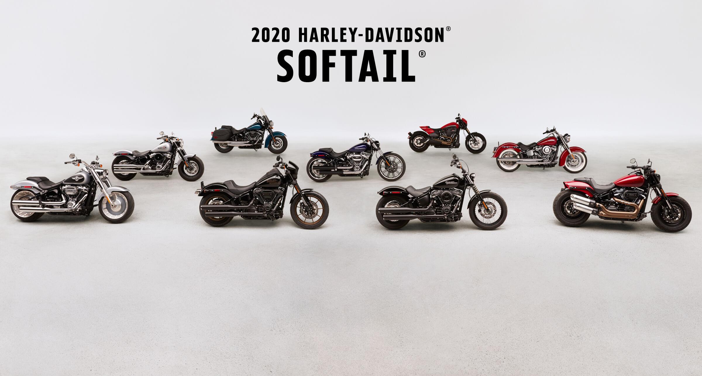Softail<sup>®</sup> - 2020 motorsykler