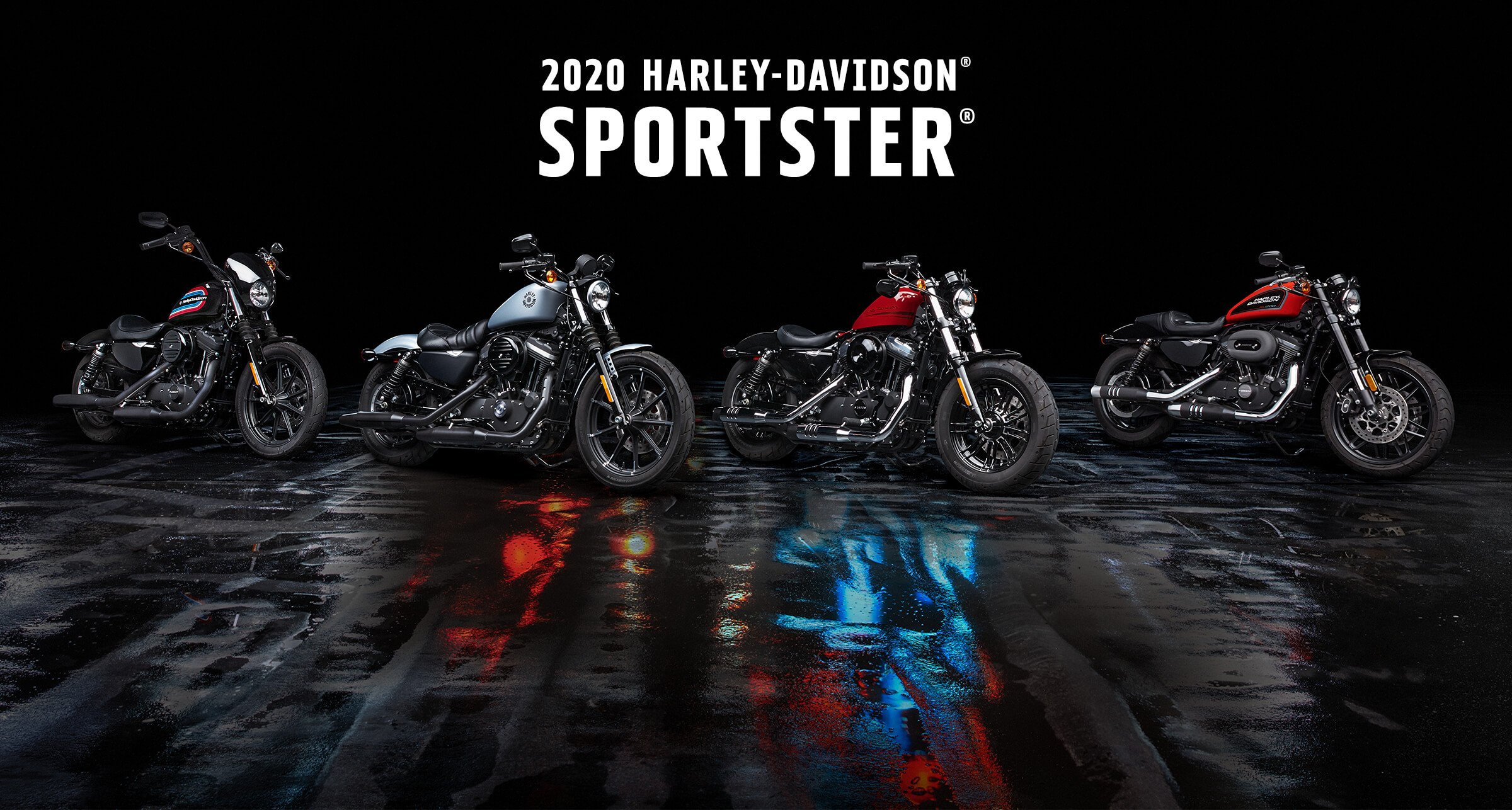 Sportster<sup>®</sup> - 2020 Motorcycles