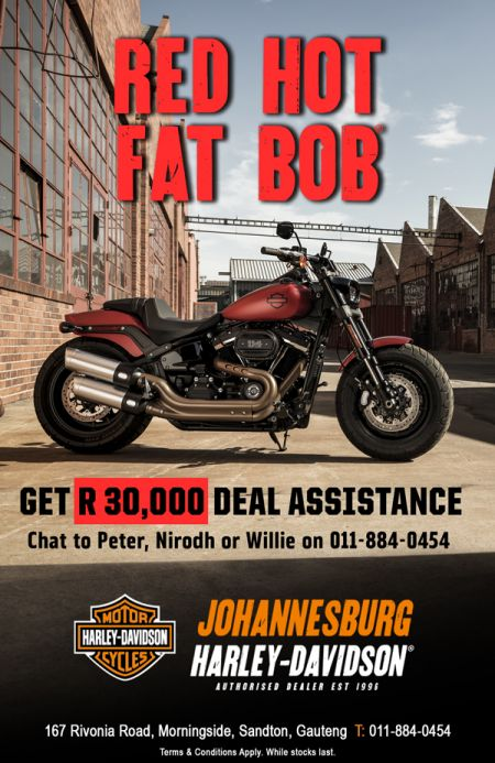 Red Hot Fat Bob Promotion