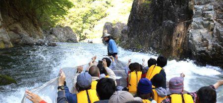 9月3日 鬼怒川ライン下りツーリング