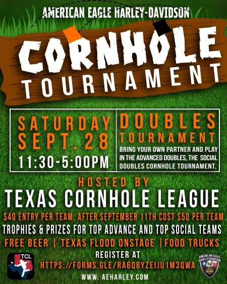Cornhole Tournament!