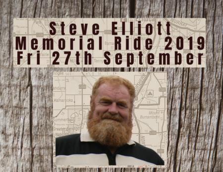 Steve Elliott Memorial Ride 2019