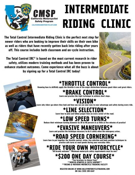 Intermediate Riding Clinic
