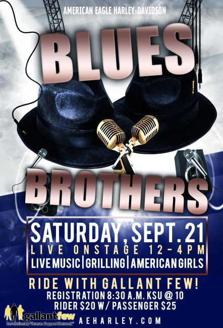 Blues Brothers LIVE at American Eagle!