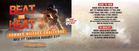 Beat the Heat Mileage Challenge!