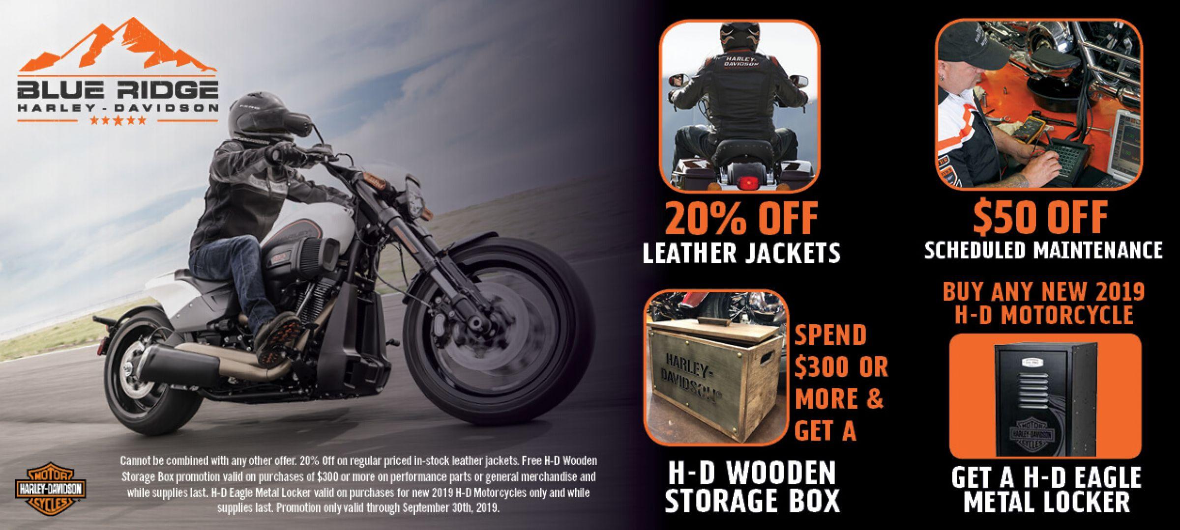 New & Used Motorcycle Dealer | Blue Ridge Harley-Davidson®