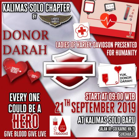 Donor Darah by Ladies of Harley Kalimas Solo Chapter