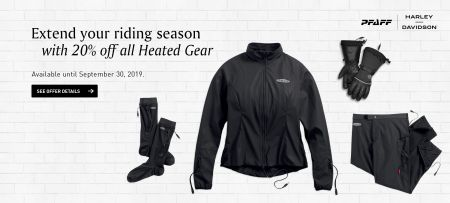 20% OFF ALL HEATED GEAR