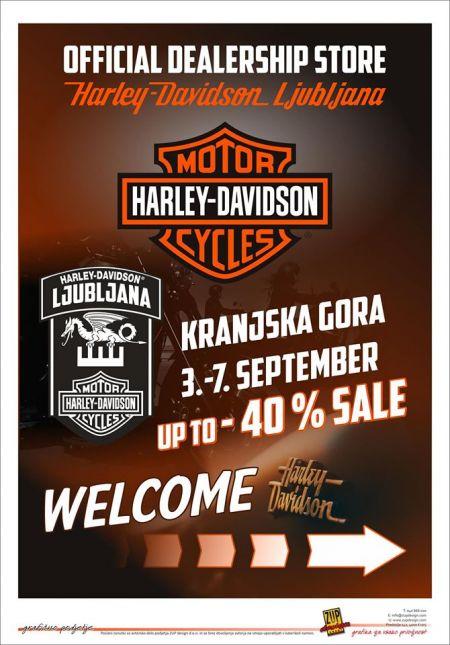 Harley-Davidson Ljubljana v Kranjski Gori!