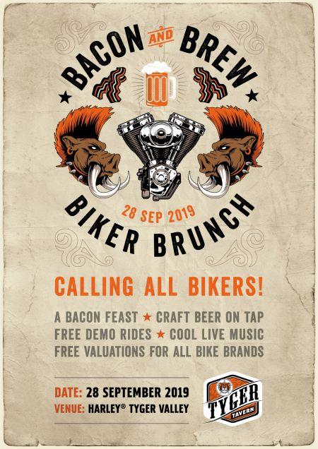 Bacon & Brew Biker Brunch!