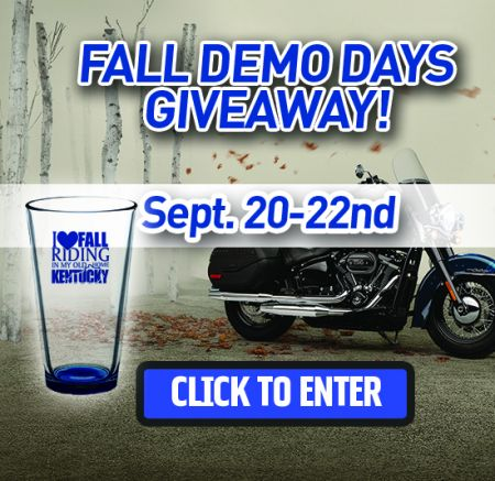 FALL DEMO DAYS GIVEAWAY