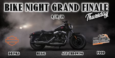 Thursday Bike Night Finale