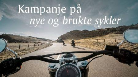 Kampanje på nye og brukte sykler