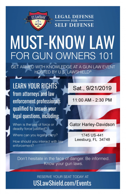 Must-Know LAW | For gun owners 101