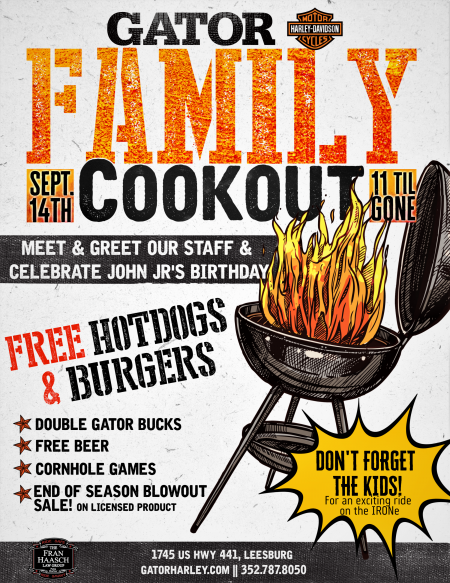 Family Cookout | IRONe kid Demos
