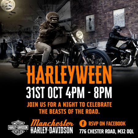 HARLEYWEEN: FOR BEASTS OF THE NIGHT.