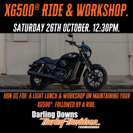 XG500 Street 500® Workshop & Ride.