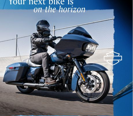 2.99% APR* no money down on 2019 H-D touring motorcycles.