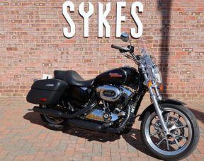 2017 Harley-Davidson XL1200T Sportster SuperLow in Vivid Black