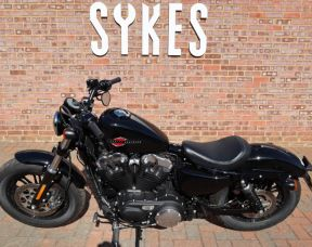 Ex-Demo 2019 Harley-Davidson XL1200X Sportster Forty-Eight, in Vivid Black