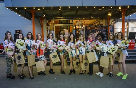 Cостоялся финал конкурса красоты «Miss Harley-Davidson Samara»