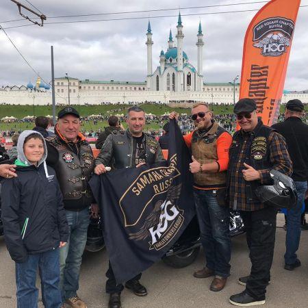 H.O.G.Samara Shapte rпринял участие в мотопараде в Казани