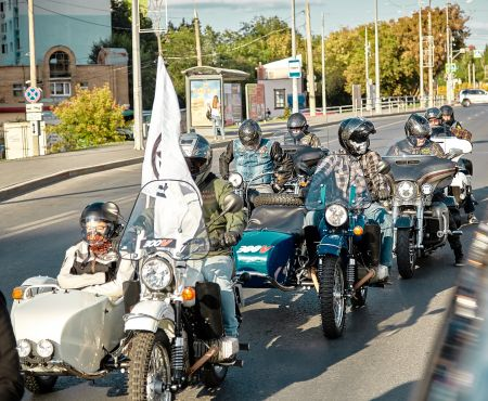 7 сентябряHarley-DavidsonSamaraотметили International Ural Ride Day!