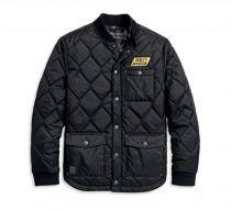 メンズ・カモ裏地キルティングジャケット