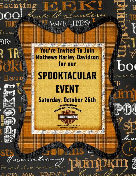Spook-tac-u-lar Event at Mathews HD