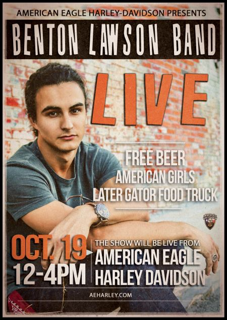 Benton Lawson Band Live! @ American Eagle Harley-Davidson