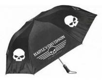 Retractable Umbrella | Skull Graphics