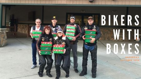 12th Annual Bikers with Boxes Toy Run