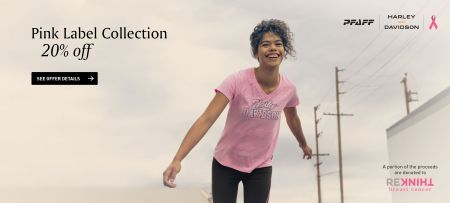 PINK LABEL COLLECTION 20% OFF